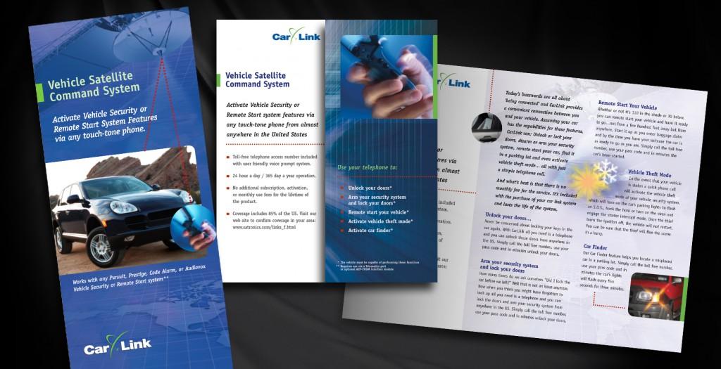Sales Brochure for Audiovox Corporation