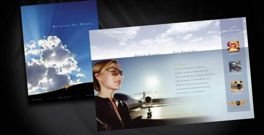 Capabilities Brochure for Private Jet Company
