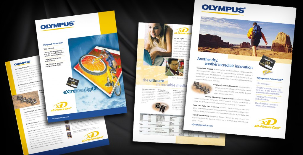 Distributor Sell Sheet for Olympus