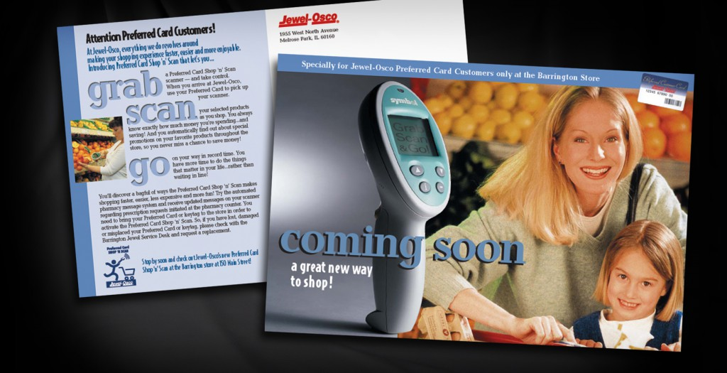 Direct Mail for Jewel-Osco and Symbol Technologies