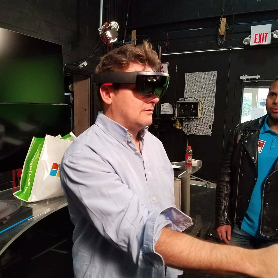 HoloLens at Five Towns College in Dix Hills, NY